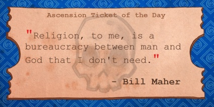 Bill Maher - Religion.Bureaucracy