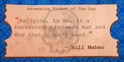 Bill Maher - Religion.Bureaucracy