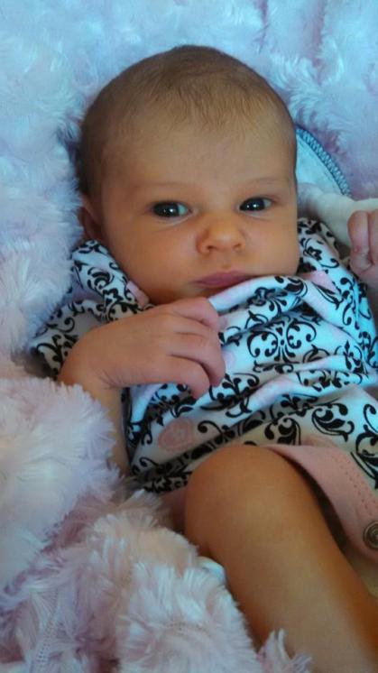 My beautiful daughter Penelope